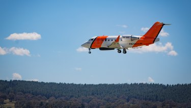 The Australian Maritime Safety Authority Challenger 604 search and rescue jet will join the search.
