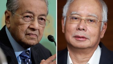 'Najib signs a lot of papers': Malaysia PM Mahathir Mohamad.
