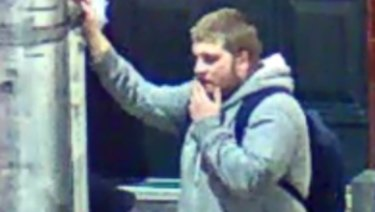 An image of the man police wish to speak to.