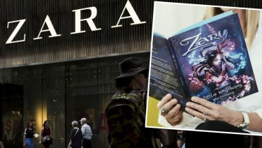 Spanish fashion label Zara wants to stop a Sydney author registering the name Zary as a trademark.