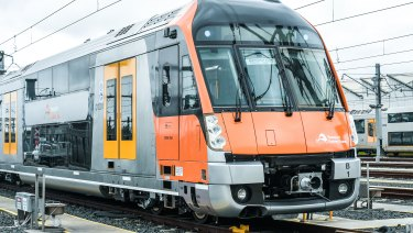 The new Waratah trains will undergo three months of testing.