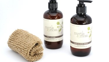 Myrtle & Moss products are stocked in 350 stores.