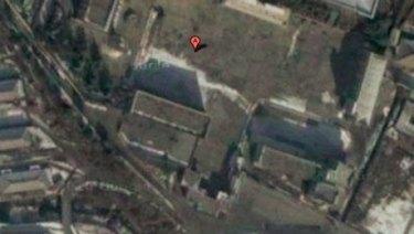 A North Korean prison camp.