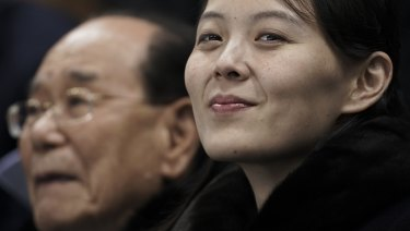 Kim Yo-jong, sister of North Korean leader Kim Jong-un.