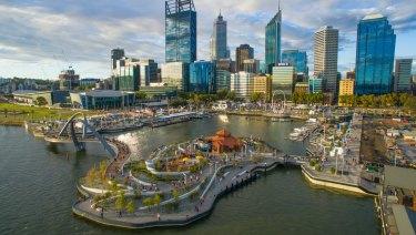 Elizabeth Quay has become a big focus for the city's tourism sector.