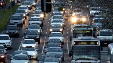 Melbourne's traffic congestion is now as bad as Sydney's, if not worse,