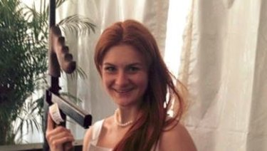 Maria Butina., the Russian woman indicted for acting as an agent of Russia in the US.