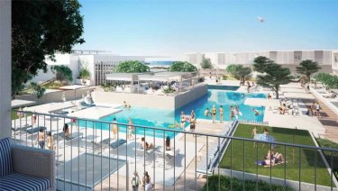 The resort will feature four pools.