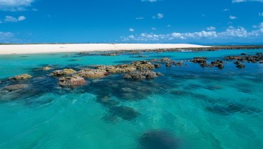 Beautiful Michaelmas Cay on the Great Barrier Reef, where several tourists have died over the years.