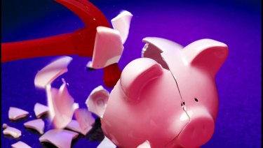 Excluding introductory offers, interest rates on the big four's online savings accounts are now less than 1 per cent.