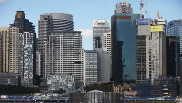 Sydney CBD rents are reaching high levels due to low vacancies