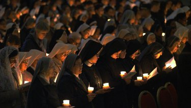 According to the magazine, nuns are relegated to second class citizens in the Church.