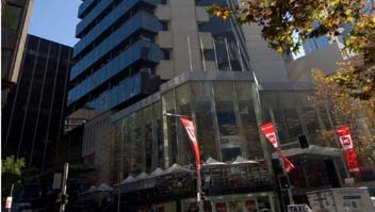 Up for grabs .. a half share of 60 Margaret Street in Sydney's CBD.
