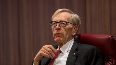 Commissioner Kenneth Hayne is presiding over the royal commission into the financial services sector.