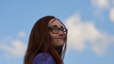 Amara Strande, student/ survivor