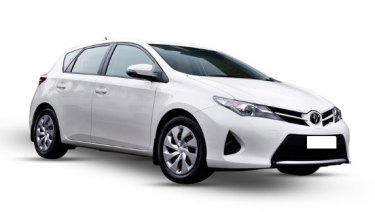 A late-model Toyota Corolla, similar to this one, is also linked to Mr Ezedyar's death.