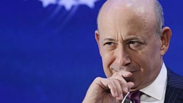 CEO Lloyd Blankfein has joked that he intends to die at his desk, but now he's preparing his departure.