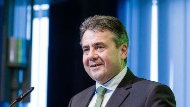 Sigmar Gabriel, Germany's foreign affairs minister