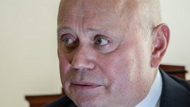 Russian Ambassador Grigory Logvinov