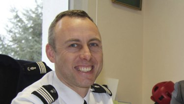 A 2013 image of hero police officer Colonel Arnaud Beltrame.