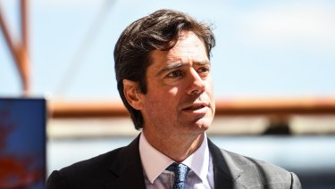 AFL chief Gillon McLachlan believes the recent spate of poor crowd behavior is an aberration.