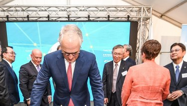 Prime Minister Malcolm Turnbull annouced a joint project with Japan to develop and export Hydrogen fuel made from brown coal in the Latrobe Valley.