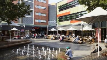 Rouse Hill Town Centre in Sydney, which is now considered a 'pretty decent development'.