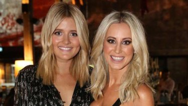 "Blonde leading the blonde: Former ""besties"" Gemma Oldfield and Roxy Jacenko."