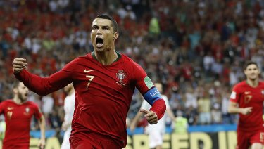 Constant threat: Cristiano Ronaldo.