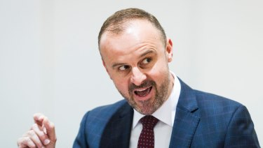Andrew Barr's government can be characterised by its focus on development and tourism.
