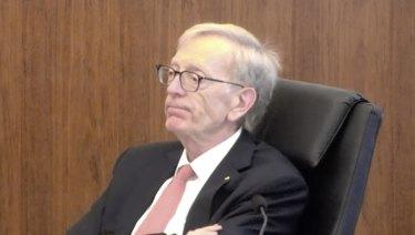 Royal commissioner Kenneth Hayne QC