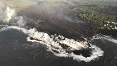 Lava destroyed hundreds of homes in mostly rural Hawaii area.