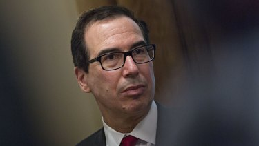 US Treasury secretary Syeve Mnuchin will suggest administering investment restrictions through an inter-agency panel, several people told Bloomberg.
