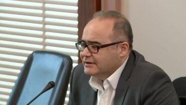 Adem Somyurek told the privileges committee he felt pressured to join John Lenders' scheme before the 2014 election.
