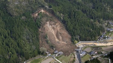The cause of the landslide is not yet known.