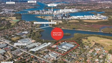 A 52,090 sq m site at 82 Hughes Avenue, Ermington, Sydney is on the market