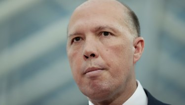 Home Affairs Minister Peter Dutton wants to help white South African farmers come to Australia.