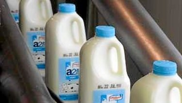 Whether you buy branded milk or supermarket label, the farmer gets approximately the same amount per litre.