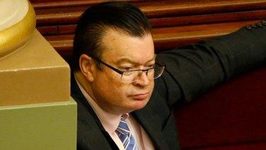 Liberal MP Bernie Finn.