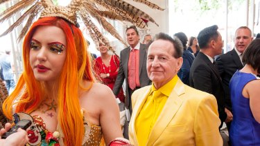 Grecko and Edelsten got engaged in the Birdcage in 2014.