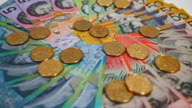 The Australian dollar has dropped around 4 per cent over the past week.