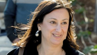 Panama Papers journalist Daphne Caruana Galizia died in October in a car bombing on Malta.