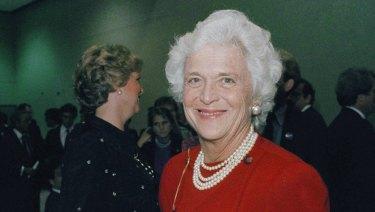 Barbara Bush in 1984.