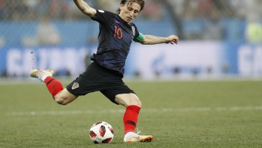 45ec0b9f8 Captain Modric dreaming of Croatia s fairytale finish in Russia