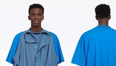 This new Balenciaga 'T-shirt shirt' has caused a sensation online.