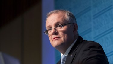 Treasurer Scott Morrison says Australia would continue to have a progressive tax system where the wealthiest workers paid the biggest tax bills in dollar terms.