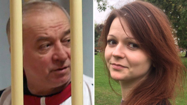 Poisoned: Russian ex-spy Sergei Skripa, 66, and his daughter Yulia Skripal, 33.