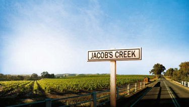 The listed French company Pernod Ricard owns the big-selling Australian wine brand Jacob's Creek.