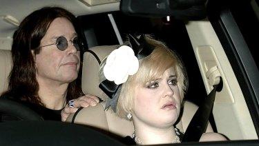 Rock star Ozzy Osborne and his daughter Kelly Osborne in 2005.