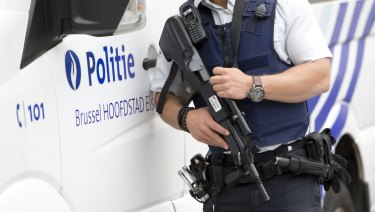 Belgium police are investigating a bomb plot linked to Iran.